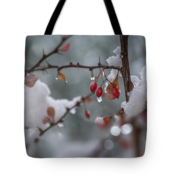 It's Berry Cold Tote Bag