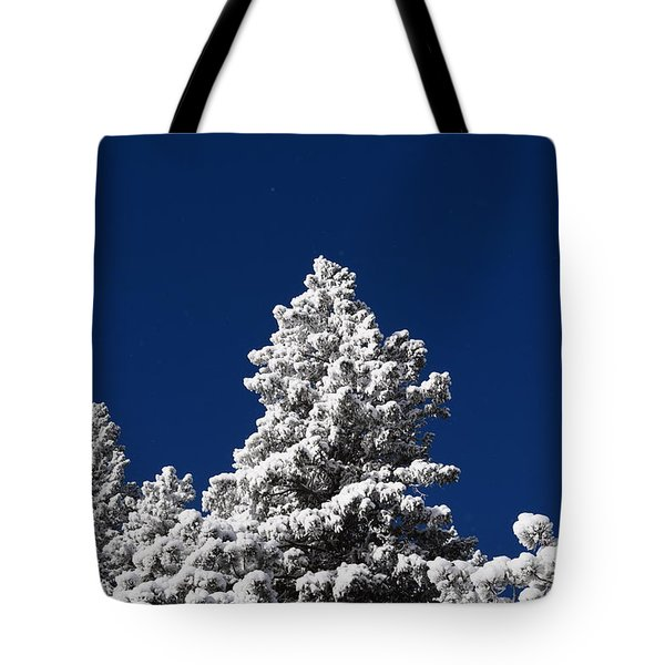 Frozen Tranquility Ute Pass Cos Co Tote Bag