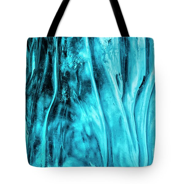 Tote Bag featuring the photograph Frozen Wonder by Sandra Bronstein