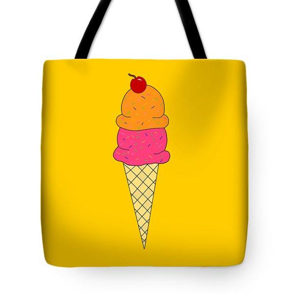 Frozen Yogurt - Food Art Tote Bag