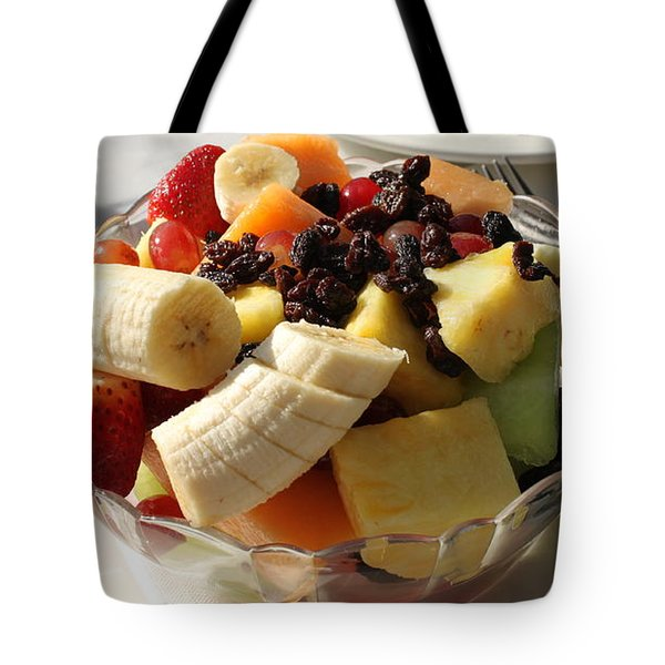 Fruid Salat, News Cafe Tote Bag
