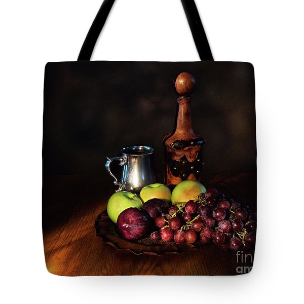 Fruit And Spirit Tote Bag by Mark Miller
