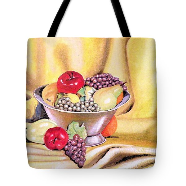 Fruit Basket Tote Bag