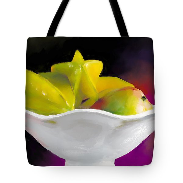 Fruit Bowl Tote Bag by Michelle Wiarda