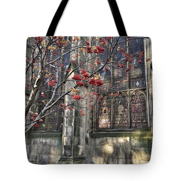 Fruit By The Church Tote Bag