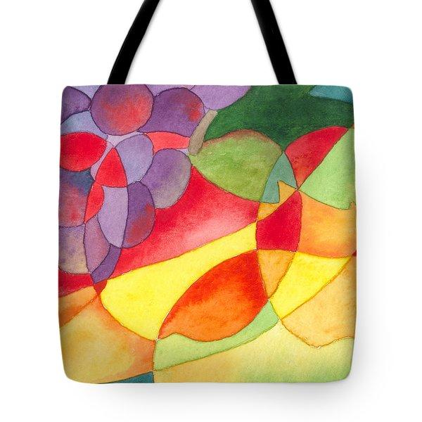 Fruit Montage Tote Bag