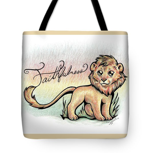 Fruit Of The Spirit Faithfulness Tote Bag