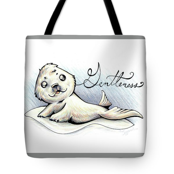 Fruit Of The Spirit Gentleness Tote Bag