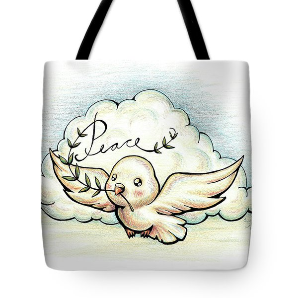Fruit Of The Spirit Peace Tote Bag