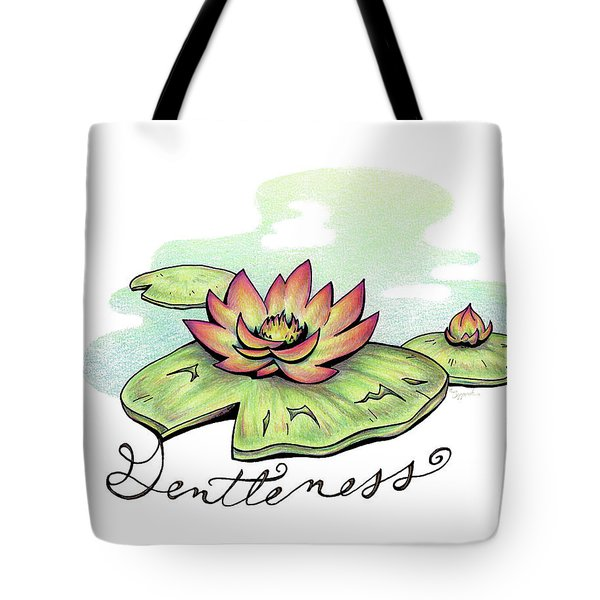 Fruit Of The Spirit Series 2 Gentleness Tote Bag