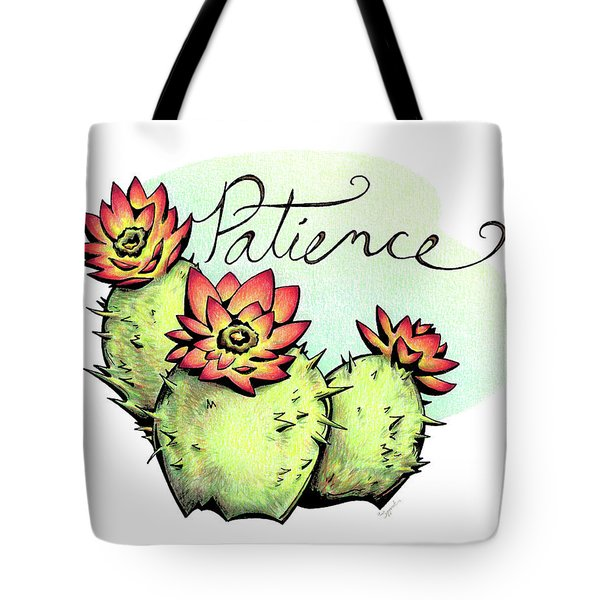 Fruit Of The Spirit Series 2 Patience Tote Bag