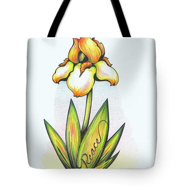 Fruit Of The Spirit Series 2 Peace Tote Bag