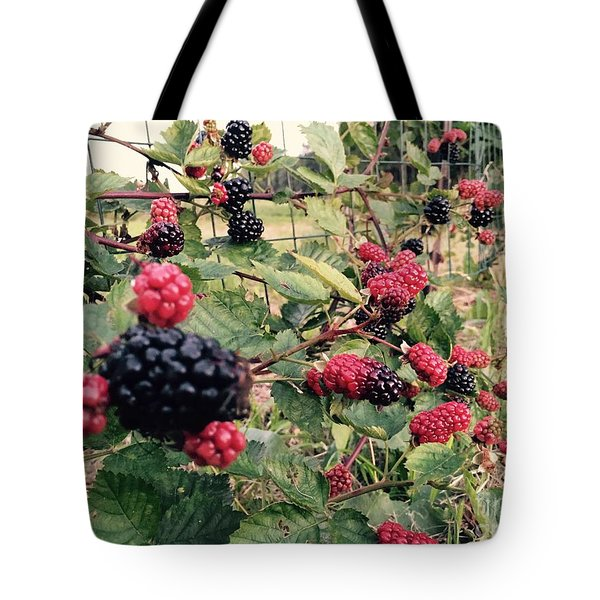 Fruit Of The Vine Tote Bag
