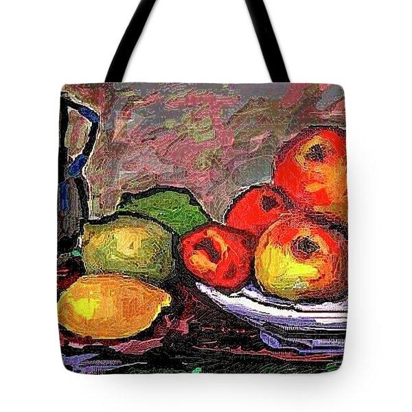 Fruit Tote Bag by Pemaro
