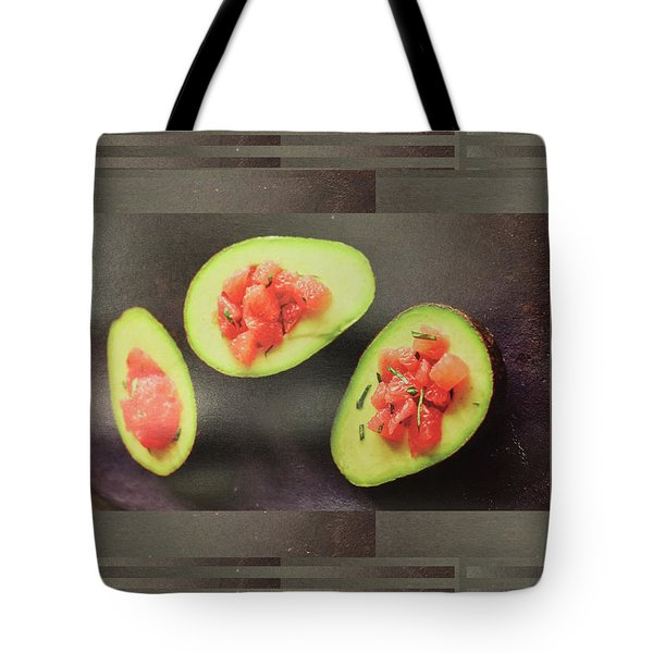 Tote Bag featuring the photograph Fruit Salad Chef Cuisine Kitchen Christmas Holidays Festivals Birthday Dad Mom  by Navin Joshi