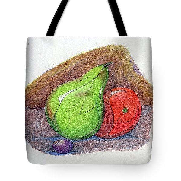 Fruit Still 34 Tote Bag by Loretta Nash