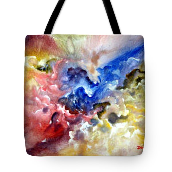 Tote Bag featuring the painting Fruitfulness by Raymond Doward