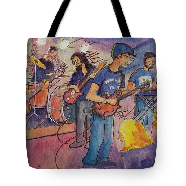 Fruition At The Barkley Ballroom Tote Bag by David Sockrider