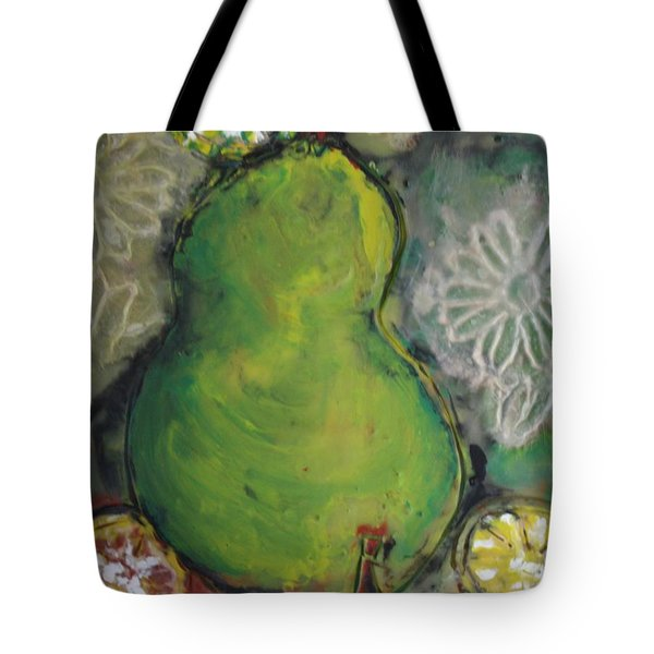 Fruits And Flowers Tote Bag