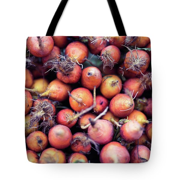Fruits And Vegetable At Farmer Market Tote Bag