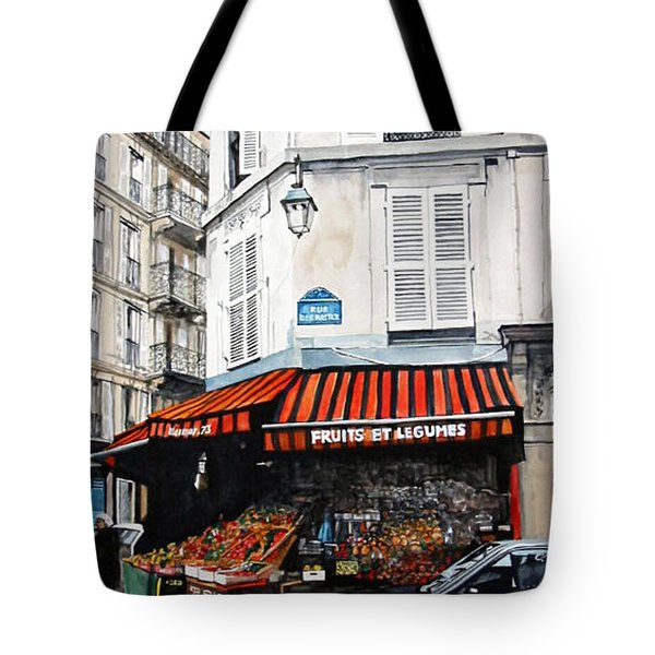 Fruits Et Legumes Tote Bag