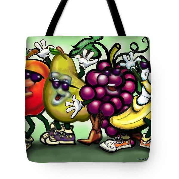 Fruits Tote Bag by Kevin Middleton