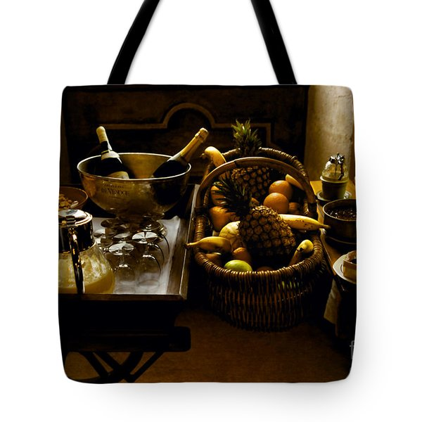 Fruits Of France Tote Bag by Madeline Ellis