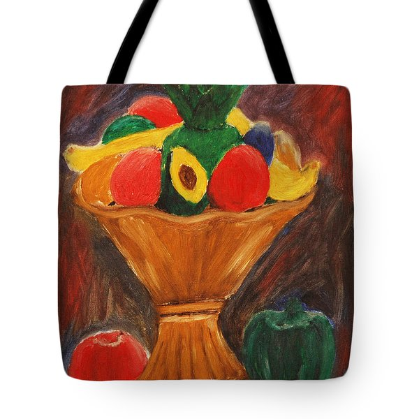 Fruits Still Life Tote Bag