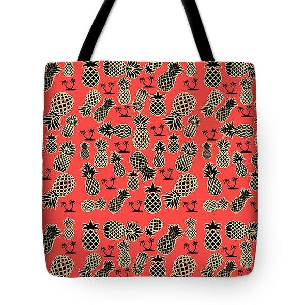 Fruity Pineapple  Tote Bag