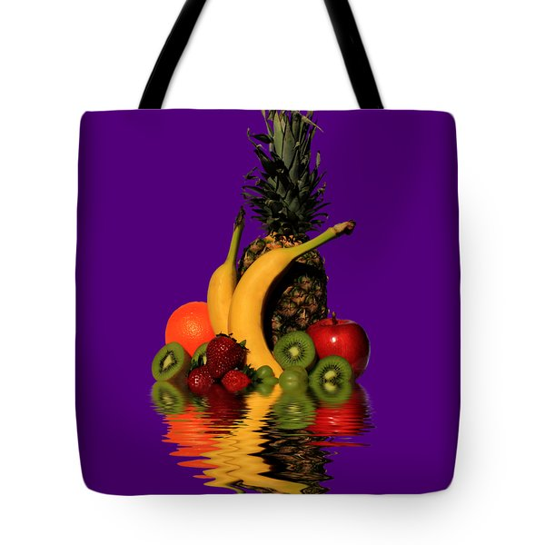 Fruity Reflections - Dark Tote Bag