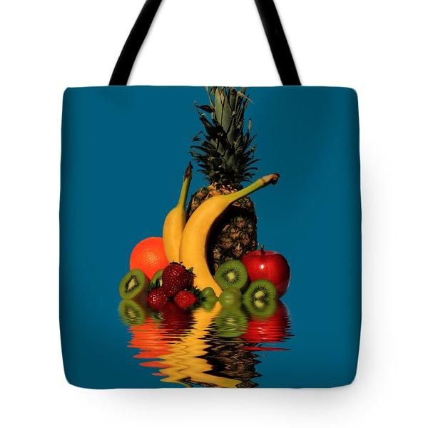 Fruity Reflections - Medium Tote Bag