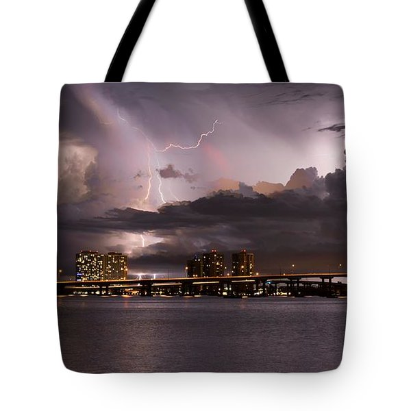 Ft Myers Nights Tote Bag