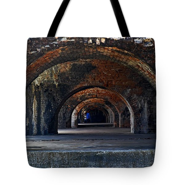 Ft. Pickens Arches Tote Bag