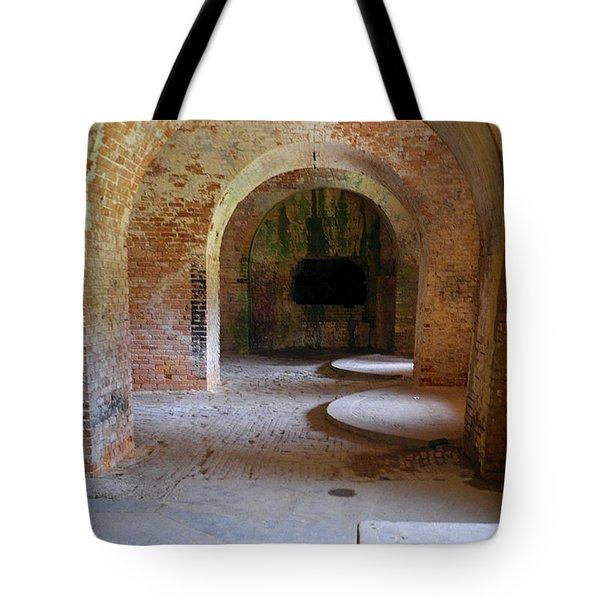Ft. Pickens Interior 3 Tote Bag