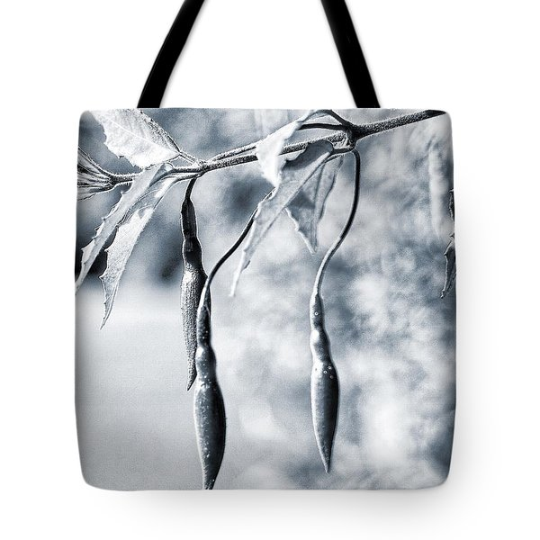 Tote Bag featuring the photograph Fuchsia Bud by Keith Elliott