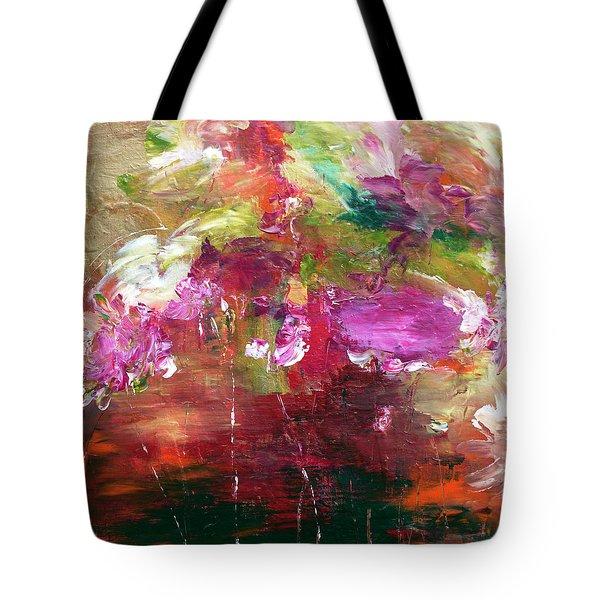Fuchsia Burst Tote Bag