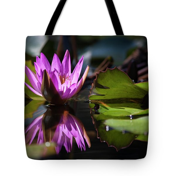 Tote Bag featuring the photograph Fuchsia Dreams by Suzanne Gaff