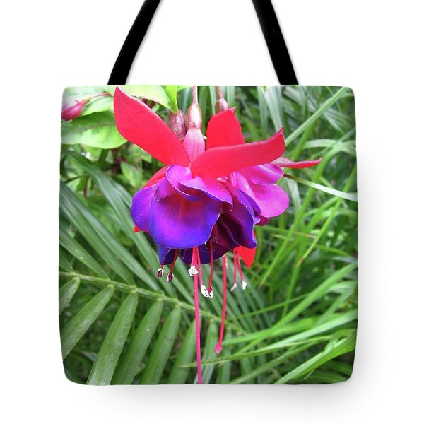 Tote Bag featuring the photograph Fuchsia by Mary Ellen Frazee