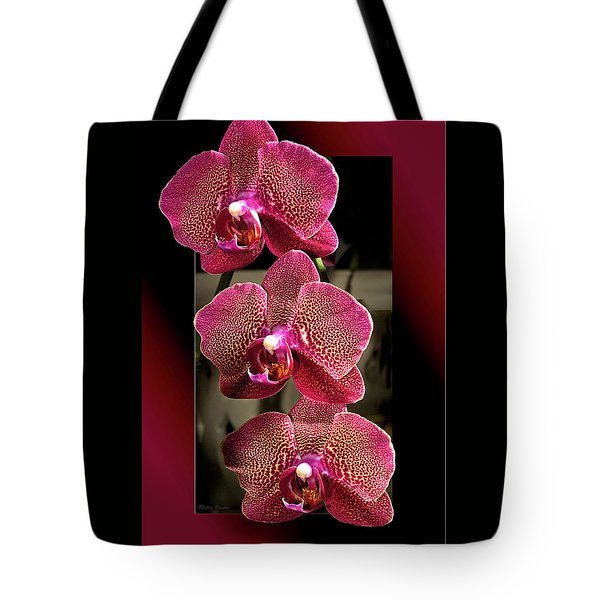 Fuchsia Orchids Oof Tote Bag