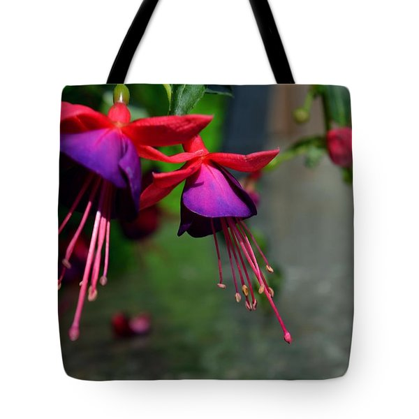 Fuchsia Original Photo Tote Bag