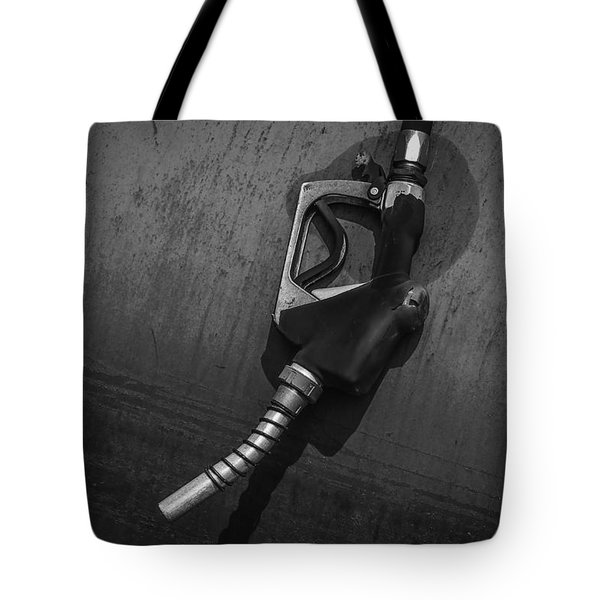 Fuel Nozzle Tote Bag by Ray Congrove
