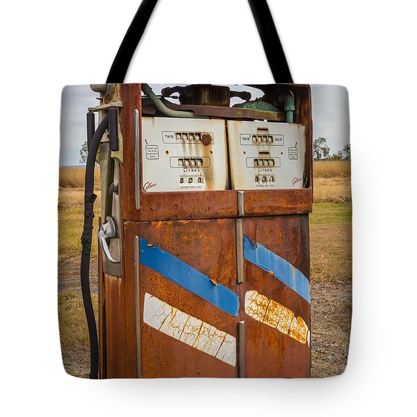 Tote Bag featuring the photograph Fuel Pump by Keith Hawley
