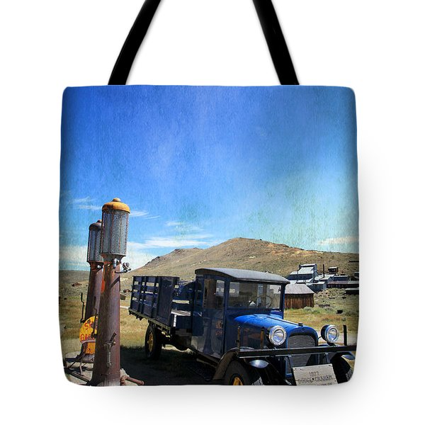 Fuelin' Up Tote Bag by Laurie Search