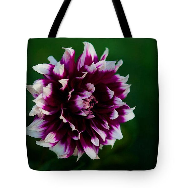 Fuffled Petals Tote Bag by Cherie Duran