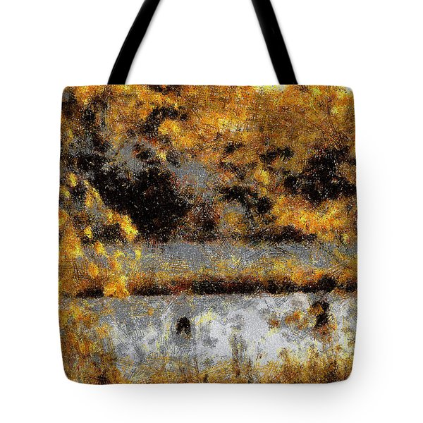 Fuisherman's Cove Tote Bag