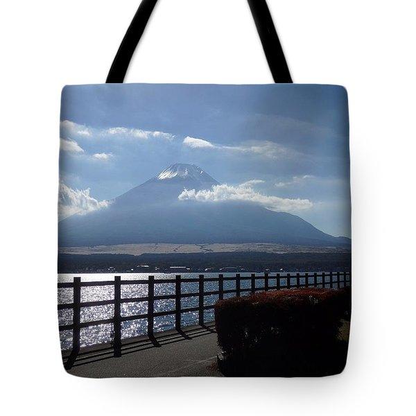 Fuji From Lake Yamanaka Tote Bag