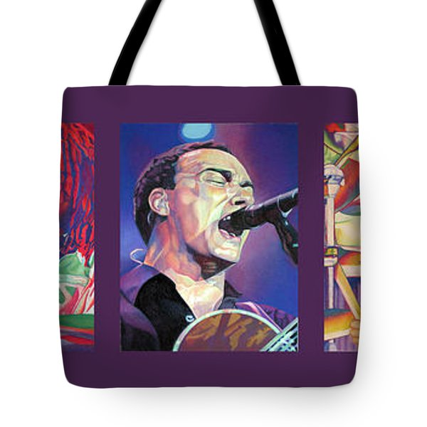 Tote Bag featuring the drawing Full Band Set by Joshua Morton