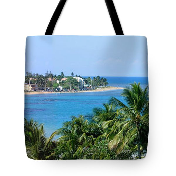 Tote Bag featuring the photograph Full Beach View by Suhas Tavkar