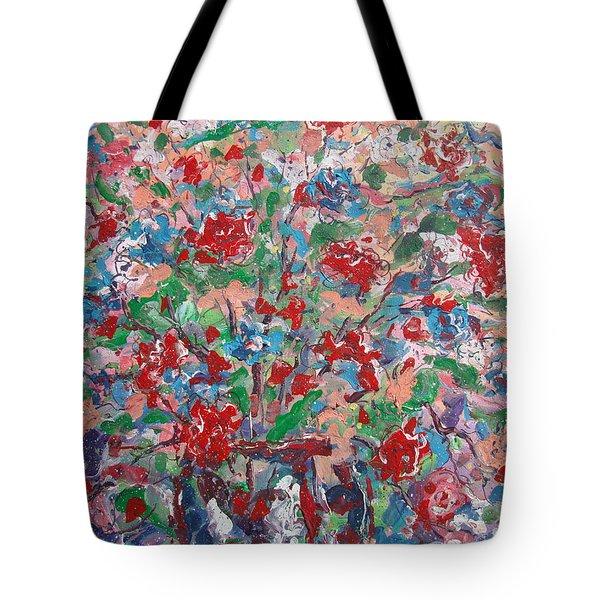 Full Bloom. Tote Bag