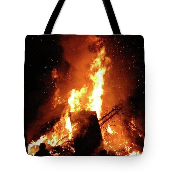 Full Bonfire Tote Bag